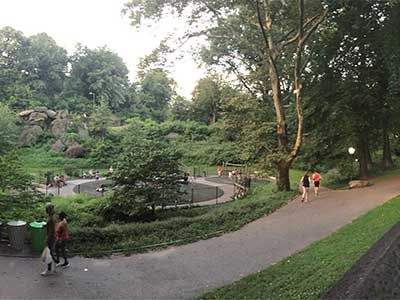 New York una cita para correr alrededor del Central Park.